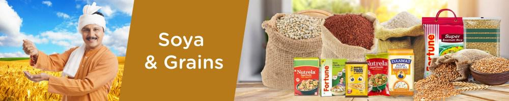 Soya Products, Wheat & Other Grains