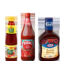 Tomato Ketchup & Sauces