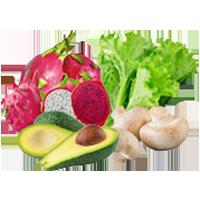 Exotic Fruits & Vegetables