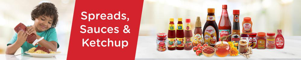 Spreads, Sauces, Ketchup