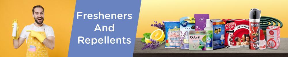 Fresheners & Repellents