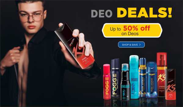 50% off on Deos