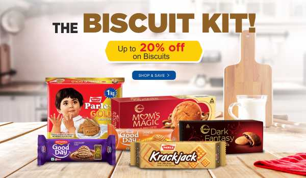 Save up to 20% on Biscuits