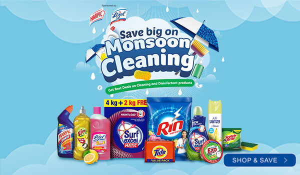 Save big on Monsoon Cleaning
