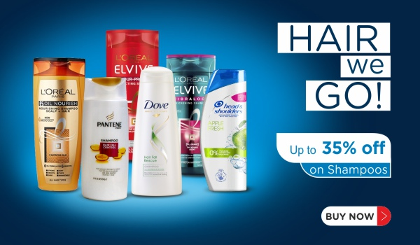 Up to 35% Off on Shampoos