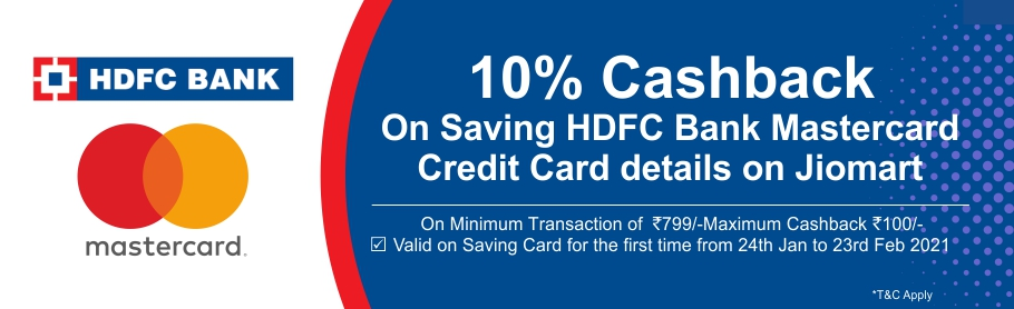 Get 10% cashback