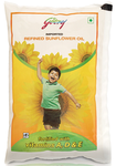 Godrej Refined Sunflower Oil 1 L (Pouch)