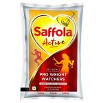 Saffola Active RiceBran Based Blended Oil 1 L (Pouch)
