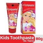 Colgate Barbie Strawberry Flavor Kids Toothpaste 80 g (6+ Years)