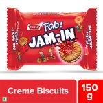 Parle Fab Jam-In Cream Biscuits 150 g
