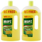 Mopz Fresh Lime Disinfectant Surface Cleaner 1 L (Buy 1 Get 1)