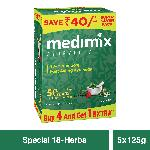 Medimix Ayurvedic 18-Herbs Classic Soap 125 g (Pack of 4)