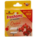 Freshomz Orchid Air Freshener Block 50 gm (Buy 1 Get 1)