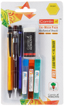 Camlin Kokuyo Tri Mech Pencil Set of 3 with Leads and XL Eraser