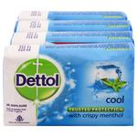 Dettol Cool Soap 125 gm (Pack of 4)