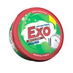 Exo Touch & Shine Anti-Bacterial Round Dishwash Bar 700 g (Free Scrubber)