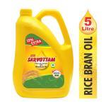 Super Sarvottam Rice Bran Oil 5 L (Jar)