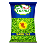 Best Farm Frozen Green Peas B1G1 1 kg