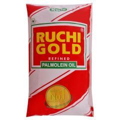 Ruchi Gold Refined Palmolein Oil 1 L (Pouch)