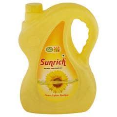 Sunrich Refined Sunflower Oil 5 L (Jar)