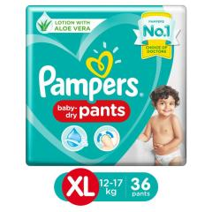 Pampers Baby Dry Pants (XL) 36 count (12 - 17 kg)