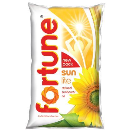 Fortune Sunlite Refined Sunflower Oil 1 L
