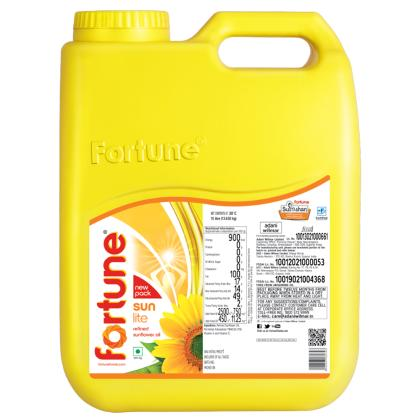 Fortune SunLite Refined Sunflower Oil 15 L
