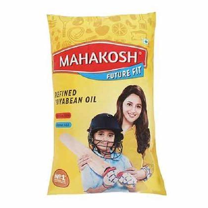 Mahakosh Future Fit Refined Soyabean Oil 1 L