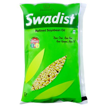 Dammani's Swadist Refined Soyabean Oil 1 L
