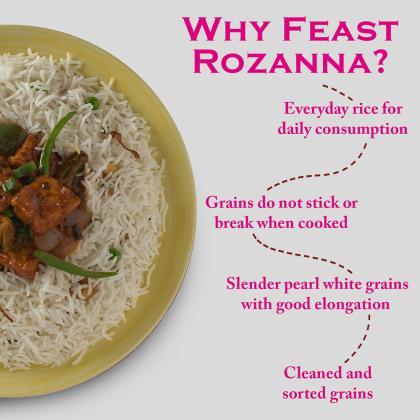 India Gate Feast Rozzana Basmati Rice 5 kg