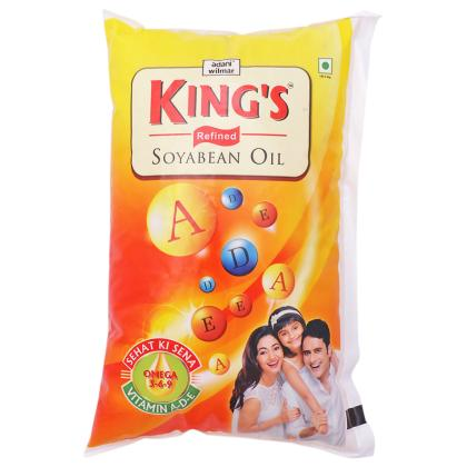 King's Refined Soyabean Oil 1 L