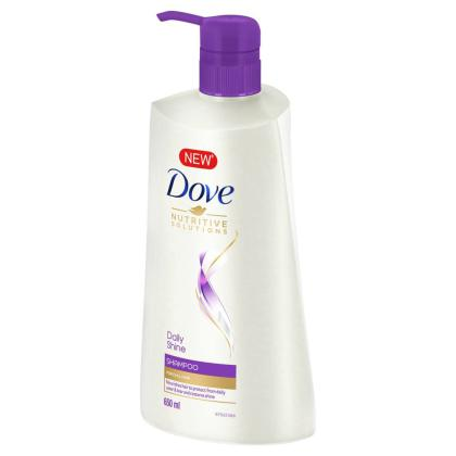 Dove Hair Therapy Daily Shine Shampoo 650 ml