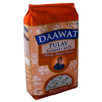 Daawat Pulav Basmati Rice 1 kg