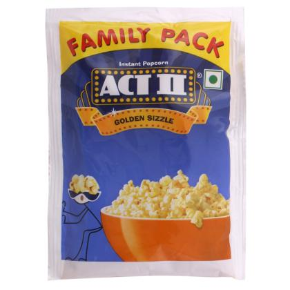 Act II Golden Sizzle Instant Popcorn 90 g