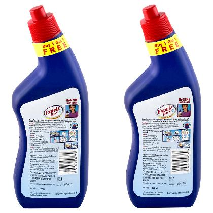 Expelz Plus++ Disinfectant Toilet Cleaner 500 ml (Buy 1 Get 1 Free)