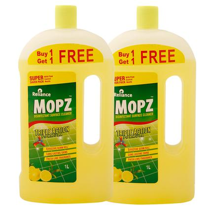 Mopz Lime Disinfectant Surface Cleaner 1 ltr (Pack of 2)
