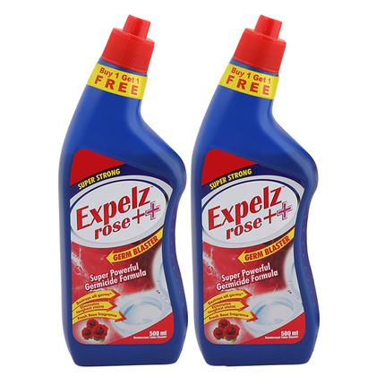 Expelz Rose Disinfectant Toilet Cleaner 500 ml (Pack of 2)