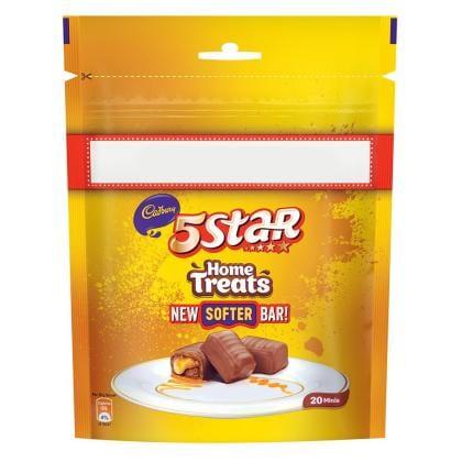 Cadbury Five Star Home Treats Chocolate Bar 200 g