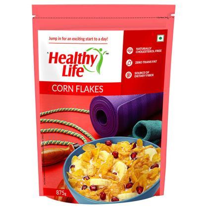 Healthy Life Corn Flakes 875 g