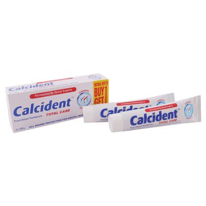 Calcident Total Care Toothpaste 150 g