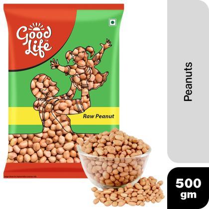 Good Life Raw Peanuts 500 g