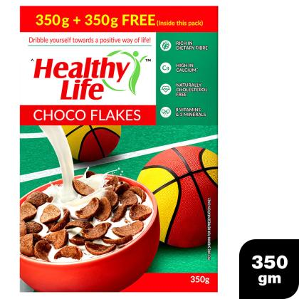 Healthy Life Choco Flakes 350 g (Pack of 2)