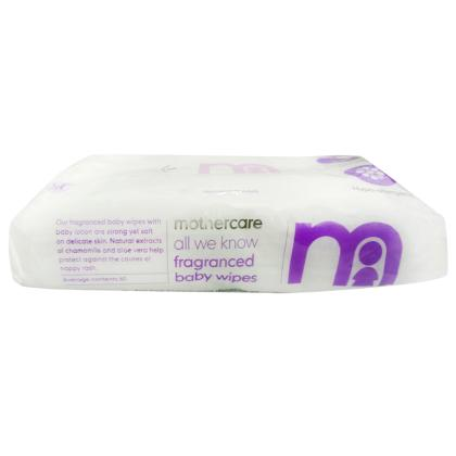 Mother Care Baby Wipes 60 Pcs With Fragrance