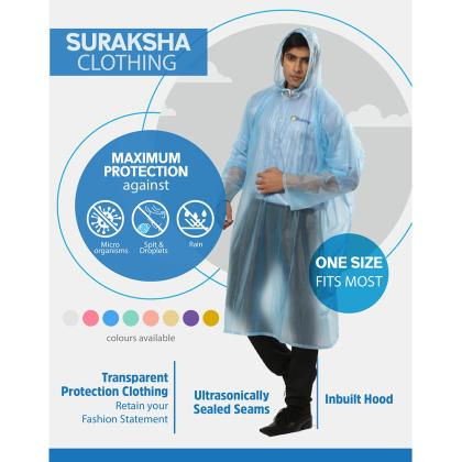 Suraksha Clothing – Poncho Raincoat