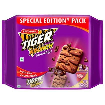 Britannia Tiger Krunch Chocochips Biscuits Combo Pack 400 g