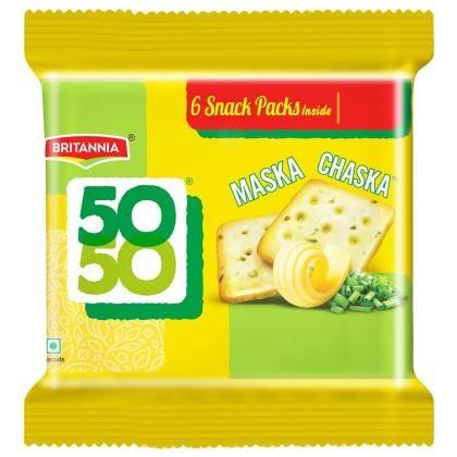 Britannia 50-50 Maska Chaska Biscuits 300 g