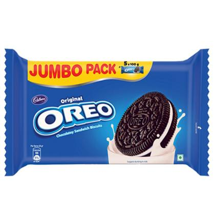 Cadbury Oreo Original Vanilla Creme Cookies Jumbo Pack 500 g