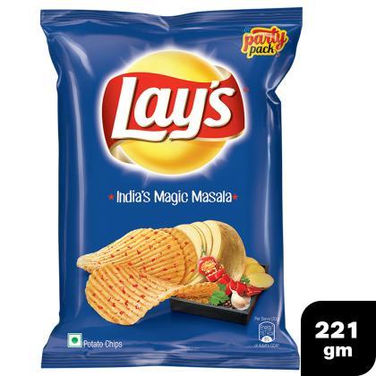 Lay`s Maxx Magic Masala Party Pack 221 g